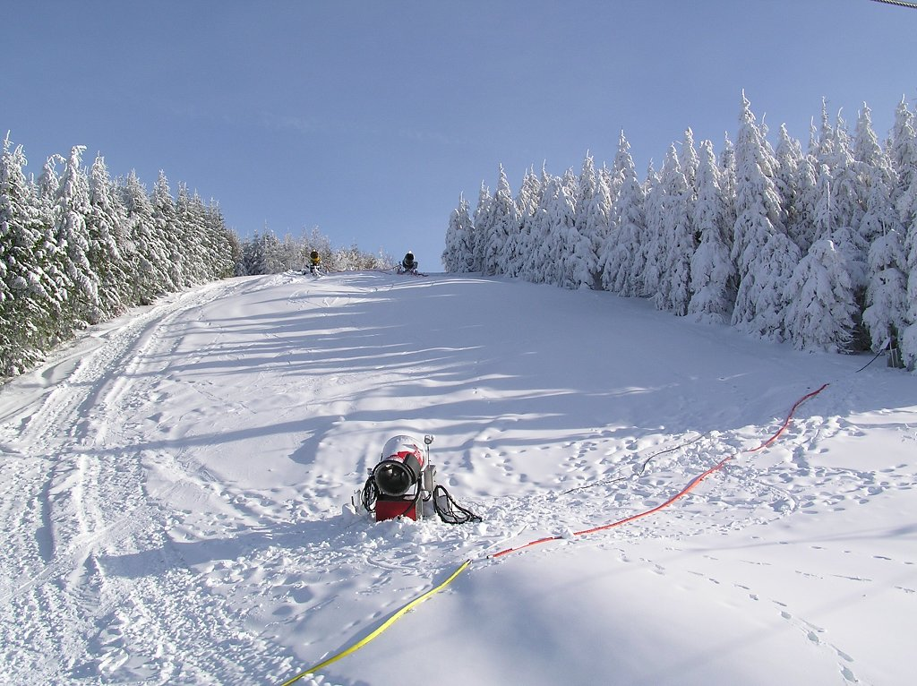 ski areal pustevny