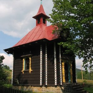 Dřevěná kaple sv. Cyrila a Metoděje v Bílé