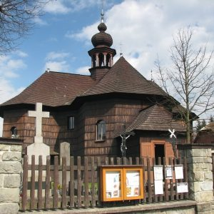 Dřevěný kostel Panny Marie Sněžné ve Velkých Karlovicích